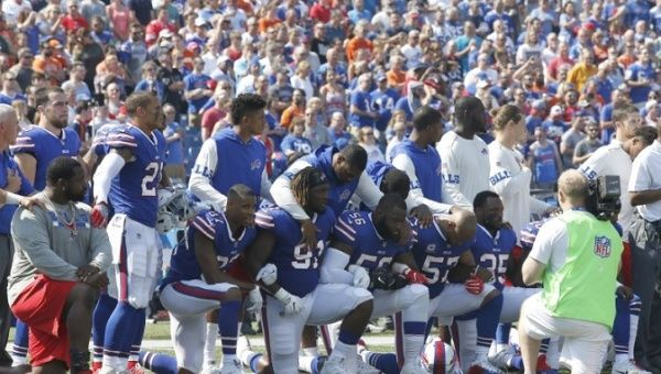NFL Will Not Punish Players For Protesting During National Anthem