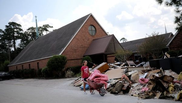 Texas Town to Get Harvey Aid Only if Residents Won't Boycott Israel