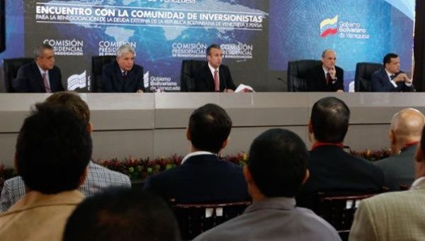 The Venezuelan State has honoured all its national and international commitments said El Aissami