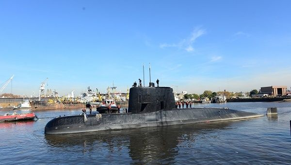 Argentina: Navy submarine has gone missing, 44 crew members on board
