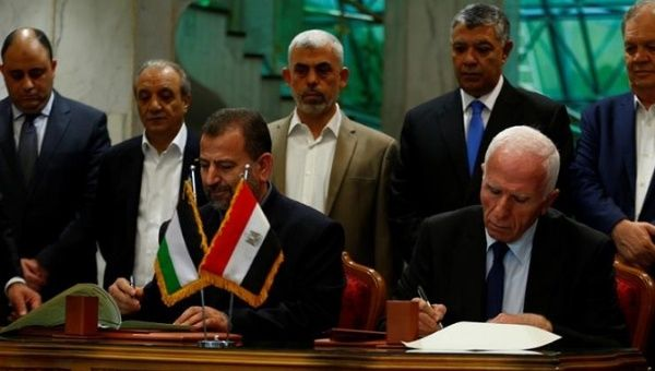 Palestinian factions Hamas and Fatah agree on 2018 elections
