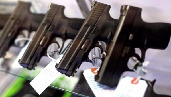 United States gun background checks hit new record on Black Friday