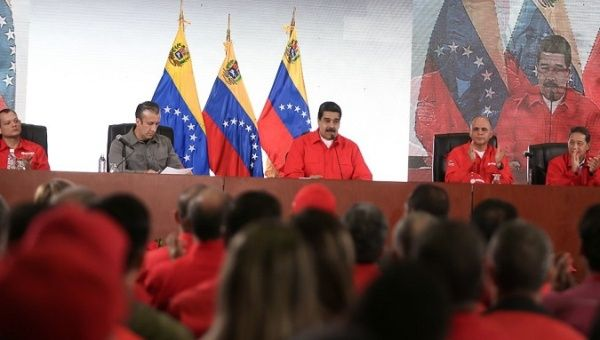 President Maduro tells military to run Venezuelan oil