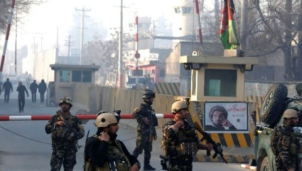 Blast in Afghan capital Kabul close to intelligence agency