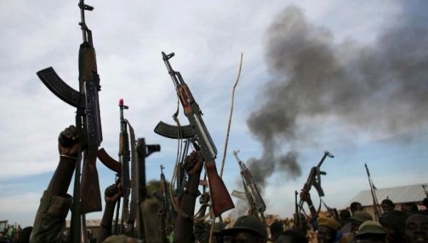 1st violations reported of South Sudan's new cease-fire
