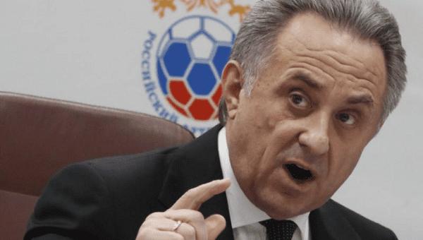 Vitaly Mutko: Russia soccer head steps apart amid doping ban