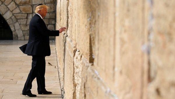 Israeli official wants Donald Trump's name on Jerusalem train station