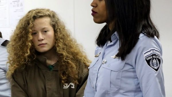 Israel to Charge Iconic Palestinian Teen Activist Ahed Tamimi