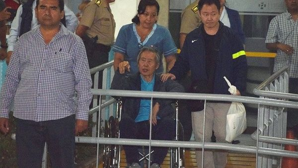 Fujimori of Peru Released From Hospital After Outcry Over Pardon