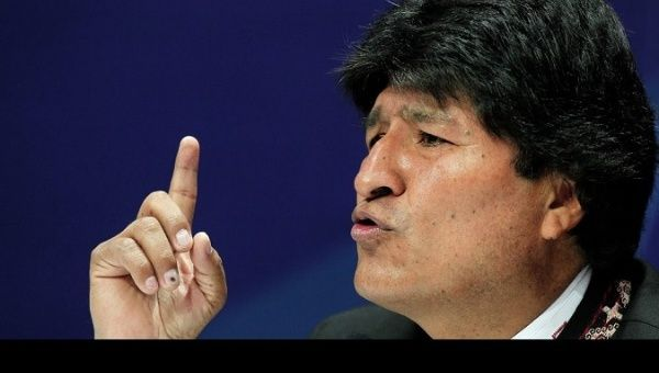 Bolivia Slams US 'Clumsiness' at UNSC Meeting On Iran Protests