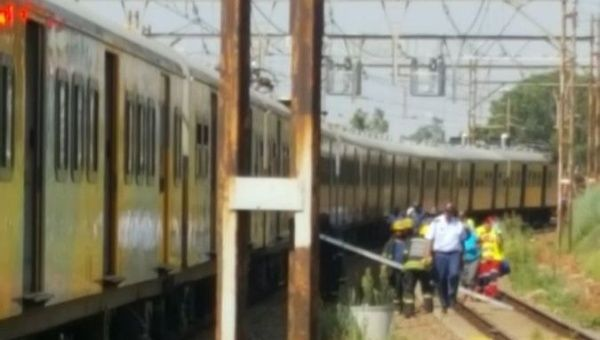 Mass injuries after trains collide in Germiston