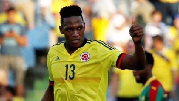 Barcelona complete transfer of Colombian defender Yerry Mina