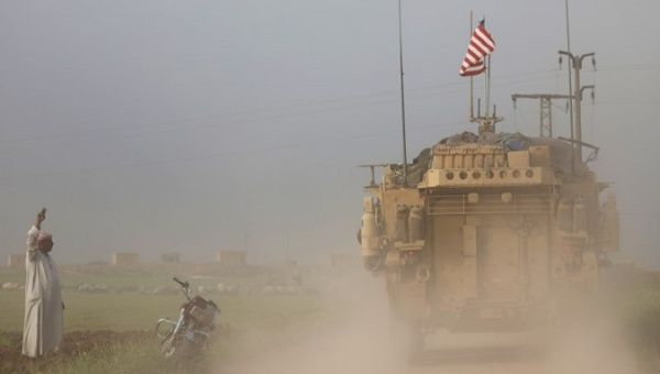 US Military Presence in Syria Act of Aggression