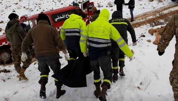 Ten Syrian refugees freeze to death crossing mountains into Lebanon
