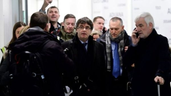 Spanish court rejects issuing European Union  arrest warrant for Puigdemont