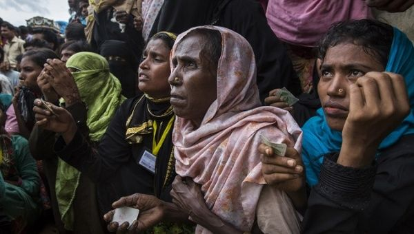 United States announces $18.4 m humanitarian aid for Rohingyas