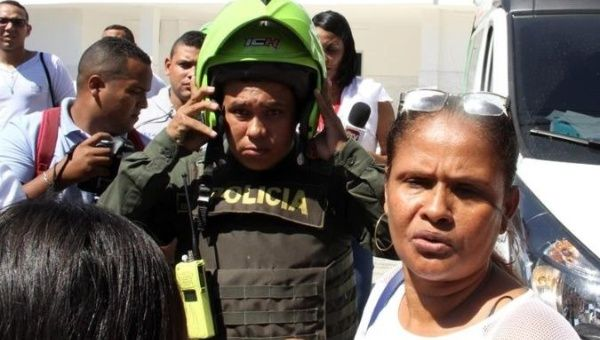 Four officers killed in bombing in Colombian city of Barranquilla