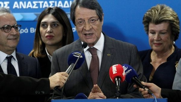 Cyprus in presidential run-off as incumbent Nicos Anastasiades falls short of majority