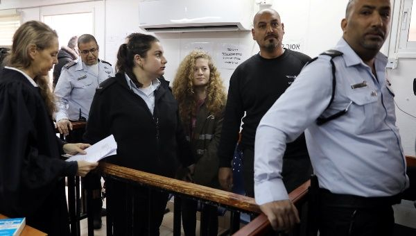 Ahed Tamimi remains in Israeli prison as