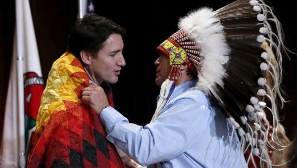 In 'Paradigm Shift,' Trudeau Announces Talks on Indigenous People's Rights