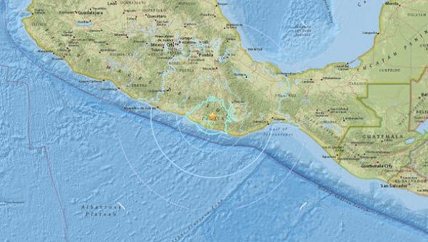 1-magnitude quake felt in Mexico City