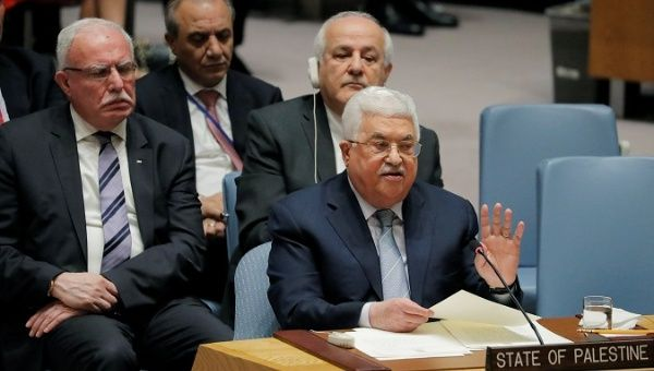 Abbas calls for worldwide conference to advance peace efforts