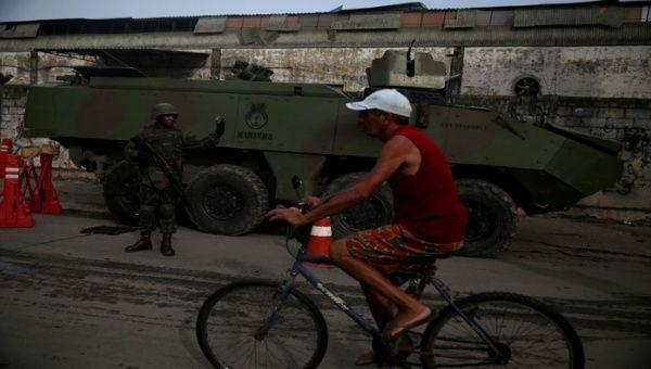 Favelas de Río, militarizadas