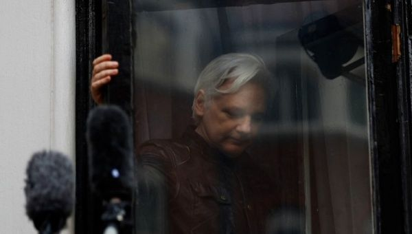 Ecuador blames Britain for breakdown of Julian Assange talks