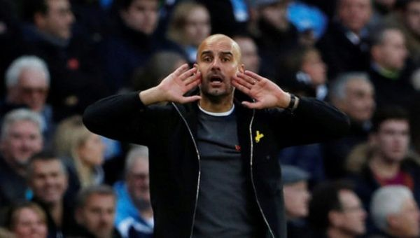 Before a manager I´ma human being - Guardiola explains continued ribbon protest