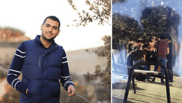 Israeli forces kidnap Birzeit University student from campus in broad daylight