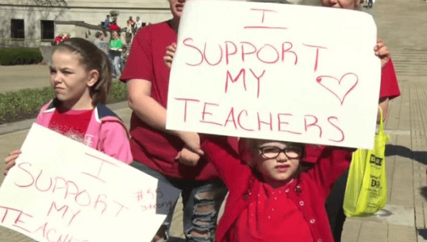 State Employees In Oklahoma Might Join Teachers In Walkout
