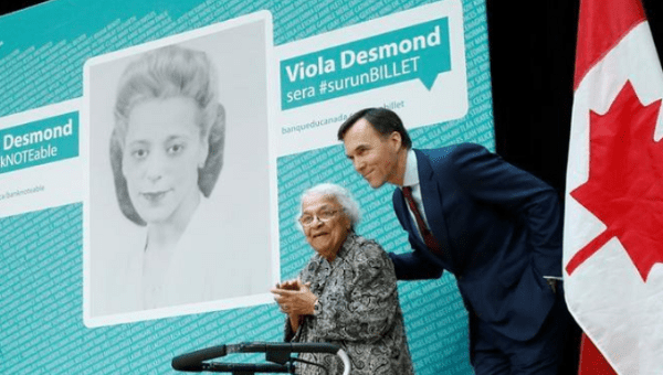 $10 bill featuring Canadian civil rights icon Viola Desmond to be unveiled