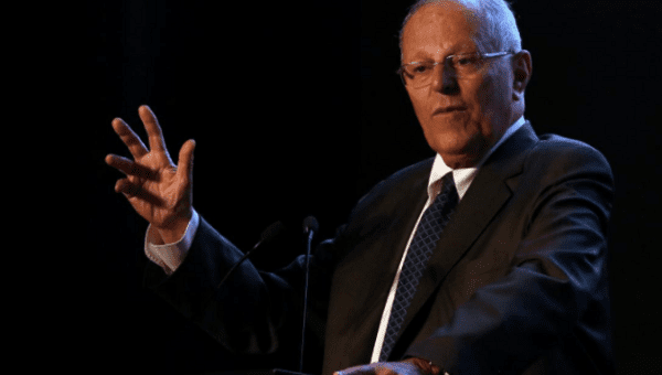 Peru President Announces Resignation In TV address