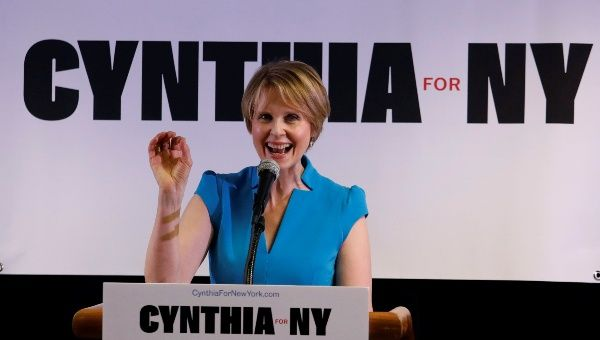 'Sex and the City' star Cynthia Nixon announces NY  gubernatorial bid