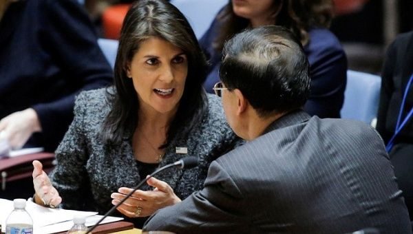 United States 'confident' Syria used chemical weapons