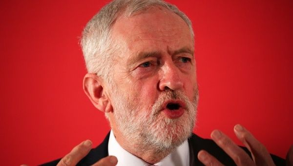 Corbyn: No Legal Basis for US, British Strikes Against Syria