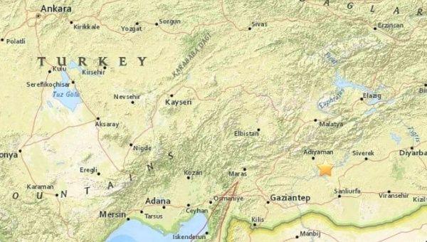 Magnitude 5.1 quake strikes Adıyaman in Turkey's southeast