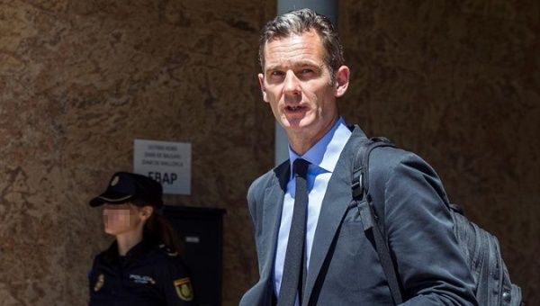 Spanish Princess Cristina's Husband Inaki Urdangarin Ordered to Head to Prison