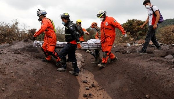Guatemala ends search for people buried by volcano eruption