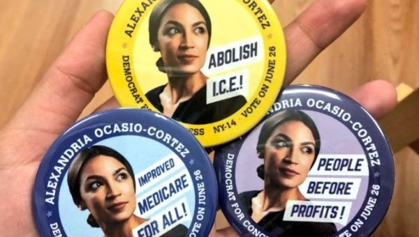 Alexandria Ocasio-Cortez Ran-and Won-as a Movement Candidate