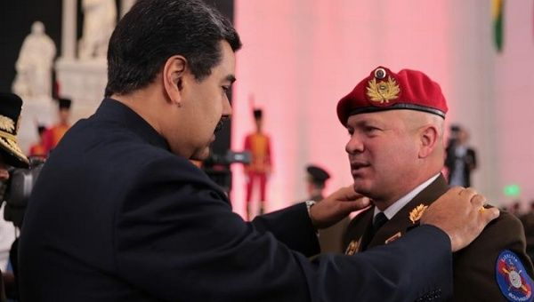 Maduro warns Venezuela army over Trump 'invasion' plans