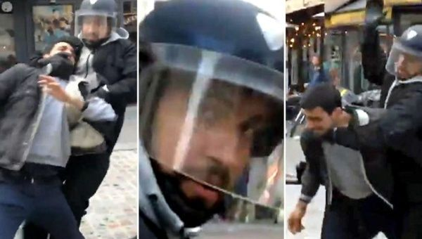 Emmanuel Macron's security chief posed as riot police to beat student protester