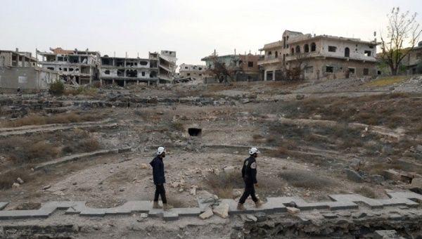 Syria's 'White Helmets' flee to Jordan with Israeli, Western help