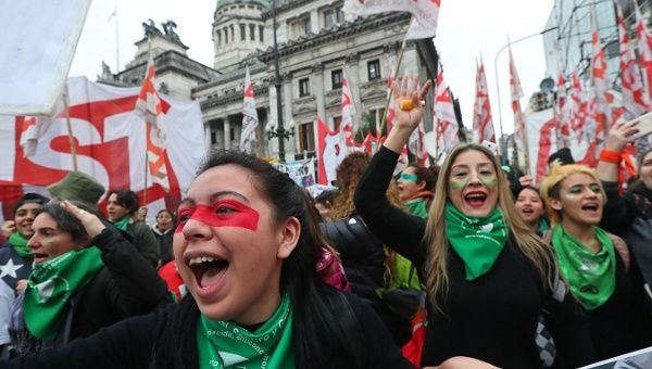 Argentina's Senate rejects legalizing abortion, in Pope Francis' homeland