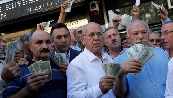 Turkish lira rebounds taking pressure off world stock markets