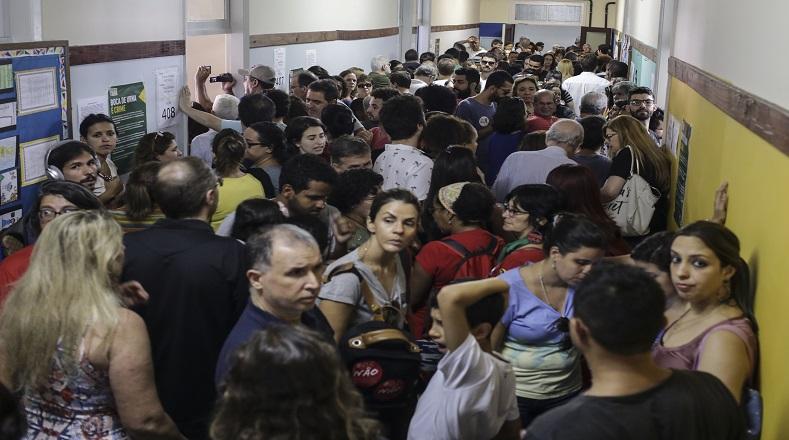 Bolsonaro y Haddad valoran los resultados de las elecciones presidenciales en Brasil