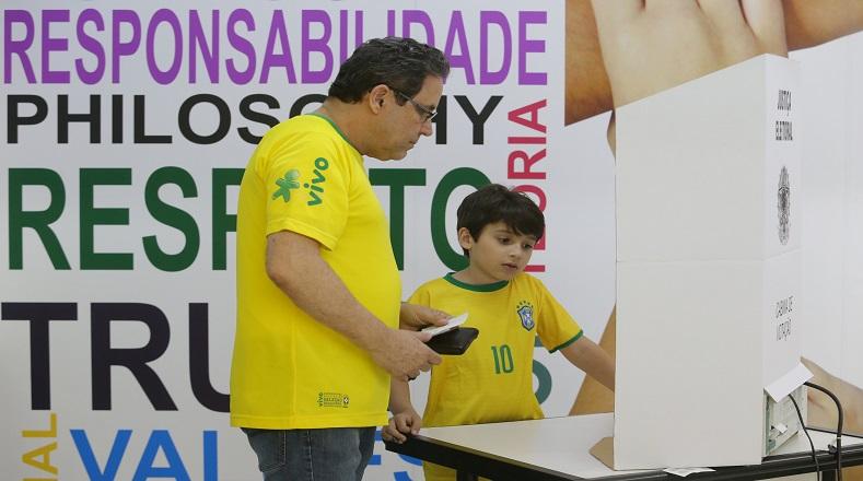 A segunda vuelta, elección presidencial en Brasil