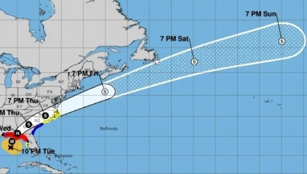 Florida braces for Michael, now a category 4 storm