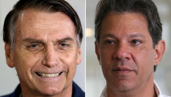 Far-right candidate Jair Bolsonaro wins Brazil presidential election
