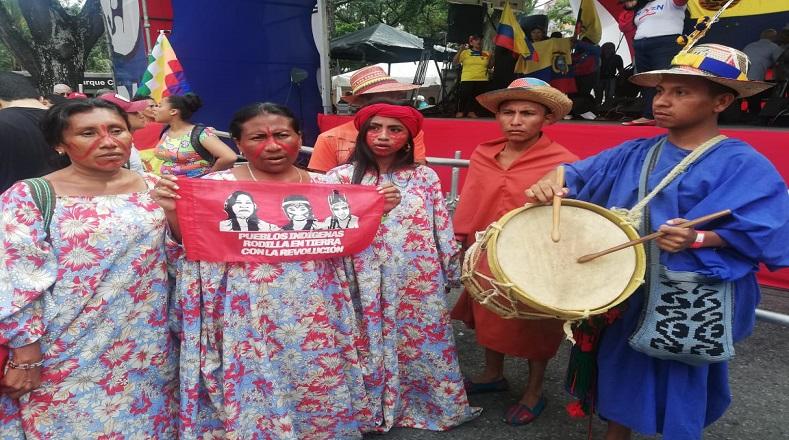 Marcha Indígena se realizará en Caracas en solidaridad al pueblo Ecuatoriano elsiglocomve
